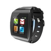 喜越 M7新款智能手环手表 穿戴式蓝牙手表手机 适用于三星/苹果手机 蓝色