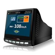 吉斯卡 行车记录仪电子狗一体 机固定流动 测速雷达 预警仪 GS600 送32G金士顿高速卡+礼包