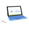 微软 Surface Pro 3 专业版 12英寸笔记本(i7/8G/256G SSD/核显/Win10/暗钛钢)产品图片2