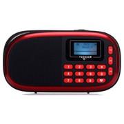 乐果 Q15 迷你音响便携插卡数码小音箱 FM收音机MP3胎教播放器(富贵红)