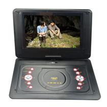 金正 移动可视DVD PD-1701 17英寸EVD影碟机电视便携式游戏播放器3合1读卡 红产品图片主图