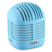 爱魔客 HS-2006 可爱 蓝牙音箱 低音炮 手机便携 免提通话插卡无线小音箱 蓝色