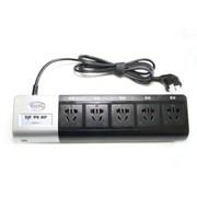 莱克斯特 E5SB-P11 智能节电控制器 (黑色)节能插座 电视专用节能插座