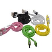 衫格(KAYKEE) 适用于三星/小米/华为/魅族/华为/联想/步步高/LG等手机 USB充电数据线 随机颜色 其他