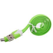 衫格(KAYKEE) 适用于三星/小米/华为/魅族/华为/联想/步步高/LG等手机 USB充电数据线 苹果绿 其他