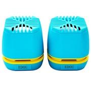 亿豆 Ed-m808 2.0声道 USB 笔记本电脑音箱 宁静蓝
