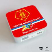 果珈 足球盛宴纪念版手机平板通用充电宝小米5S移动电源8400毫安 荷兰