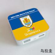 果珈 足球盛宴纪念版手机平板通用充电宝小米5S移动电源8400毫安 乌拉圭