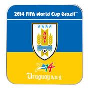 果珈 巴西世界杯纪念版手机平板通用充电宝小米5S移动电源8400毫安 乌拉圭