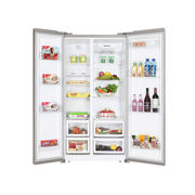 美菱 BCD-518WEC 518升对开门冰箱(月光银)