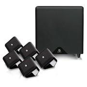 波士顿 SWXSHTSSEB-02209 Soundware XS SE 家庭影院 5.1声道卫星箱套装(含低音炮6只装)黑色