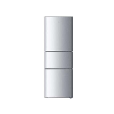 海尔 BCD-205STPH 205升三门冰箱(银色)产品图片1