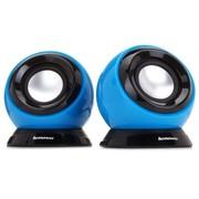 联想 m0520 多媒体便携音箱 蓝色 音质细腻 个性时尚