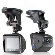 和义通 802 汽车用品前后 行车记录仪 双镜头高清1080P夜视车载迷你一体机 标配无卡