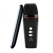 妮可诗(NIKESHI) 091 手机KTV/安卓手机专用k歌/录音/混响电容卡拉ok随身话筒/支持双人合唱 091黑色安卓版