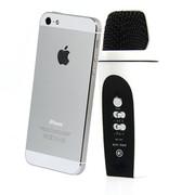 妮可诗(NIKESHI) 091 手机KTV/安卓手机专用k歌/录音/混响电容卡拉ok随身话筒/支持双人合唱 091白色苹果版