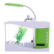 飞狗 便携蓝牙音响音乐鱼缸音箱创意个性小音箱 通用 绿色
