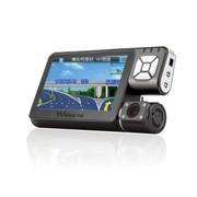 沃能 A10 行车记录仪GPS导航仪电子狗三合一体机 高清夜视广角1080P循环录影极致广角 标配无卡