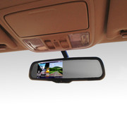 逸炫 后视镜双镜头行车记录仪 专车专用 倒车影像 高清广角 4.3寸夜 单镜头记录仪 CRV/奥德赛/新思域/艾力绅