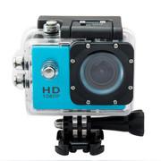 一航达 F99行车记录仪 高清防水外壳运动DV多功能数码摄像机 1080p 蓝色 官方标配+8G卡