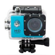 一航达 F99行车记录仪 高清防水外壳运动DV多功能数码摄像机 1080p 蓝色 官方标配+4G卡