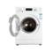 三洋 DG-F7026BWN 7公斤全自动滚筒洗衣机(亮银色)产品图片2
