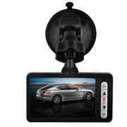 凌途 V11 2.7寸迷你型170超广角行车记录仪高清广角夜视汽车用品 黑色 无卡