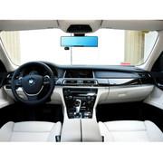 平行线 升级款安卓5.0寸后视镜行车记录仪 GPS导航 高清广角夜视 监控倒车影像D11 双镜无卡+监控