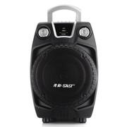 先科 SA-501 多功能便携式插卡户外专业卡拉OK有源音箱 黑色