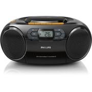 飞利浦 AZ329 迷你音响 收录音机CD机磁带机胎教机多功能学习收录机(黑色)