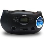 飞利浦 AZ1068/93 CD/FM/USB/SD卡多功能大功率学习收录机 黑色
