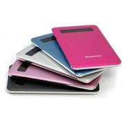 其它 高端超薄移动电源苹果4S iPhone5三星HTC手机充电宝5600毫安 海洋蓝
