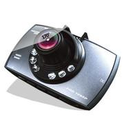 吉斯卡 汽车车载行车记录仪 超强夜视停车监控 高清夜视广角 2.7寸高亮彩频迷你 +8G卡送通电宝