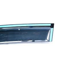 越野兵 本田CRV晴雨挡 12-14款CRV注塑带卡扣雨眉 高挡晴雨挡产品图片主图