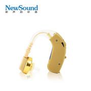 新声 VIVO106 无线充电耳背式助听器 官方标配+充电器+2粒进口充电电池