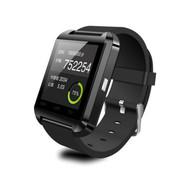 喜越 U8新款智能手表手环车载可通话蓝牙手表来电免提震动 钢琴黑