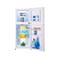 韩电 BCD-118DG 118升双门冰箱(横拉丝)产品图片2