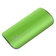 Lassie 三星小米智能手机通用充电宝聚合物电芯 苹果绿