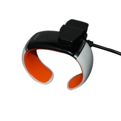 ione JD-Z1 智能手环 健康手环手镯 可穿戴智能蓝牙手表 手机平板通用 炫酷腕表 白橙SWA003产品图片1