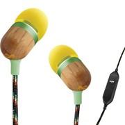 马利 EM-JE001-CU Smile Jamaica 系列入耳式(带麦)手机耳机 柠檬黄