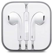奇克摩克 简约线控耳机 适用于3.5mm通用接口手机 苹果iphone5/5s 白色