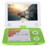 谷天 GT932 11英寸 便携式移动DVD  支持网络主流视频RMVB文件、时尚开机动画 (绿色)