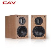 CAV FL-11书架音箱 HI-FI发烧级监听音响 木质原木皮箱体音质爆好