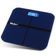 Meilen 电子称体重秤健康秤电子秤人体秤计精准 温度深邃蓝色