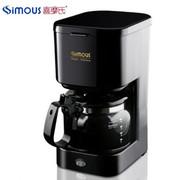 喜摩氏  家用咖啡机(美式滴漏式SCM0004五杯 尊贵黑)