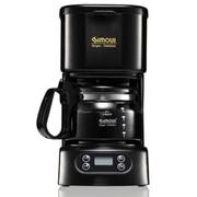 喜摩氏  家用咖啡机(五杯数码预约美式滴漏SCM0020尊贵黑)