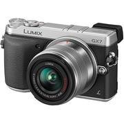 松下 GX7 单电套机 银色(14-42mm 镜头)