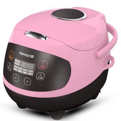 九阳 JYF-20FS62 多功能迷你电饭煲 陶晶内胆 粉色 2L 可预约 可制蛋糕 酸奶 婴儿粥 一锅六用产品图片1