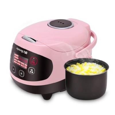九阳 JYF-20FS62 多功能迷你电饭煲 陶晶内胆 粉色 2L 可预约 可制蛋糕 酸奶 婴儿粥 一锅六用产品图片2