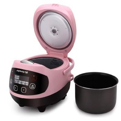 九阳 JYF-20FS62 多功能迷你电饭煲 陶晶内胆 粉色 2L 可预约 可制蛋糕 酸奶 婴儿粥 一锅六用产品图片3